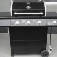 Barbeque- 3 burner +1 side burner